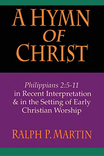9780830818945: A Hymn of Christ: Philippians 2:5-11 in Recent Interpretation & in the Setting of Early Christian Worship