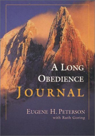 9780830820399: A Long Obedience Journal