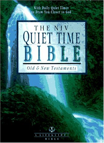9780830821044: The NIV Quiet Time Bible: New International Version (Lifeguide Bible)