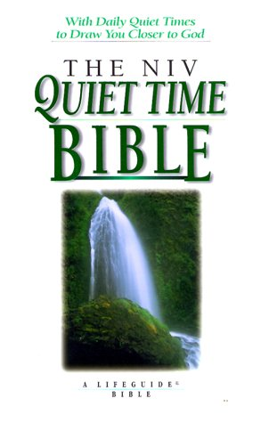 9780830821051: Niv Quiet Time Bible: New International Version (A Lifeguide Bible Study)