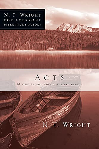 9780830821853: Acts (N. T. Wright for Everyone Bible Studies)
