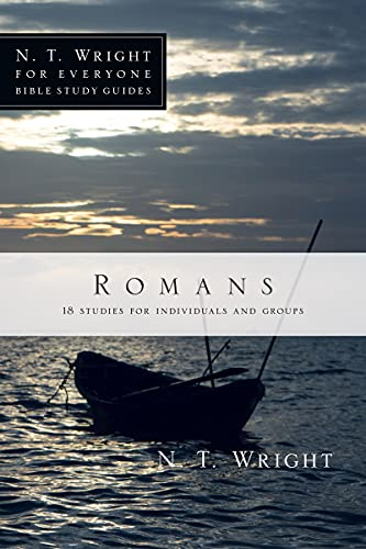 9780830821860: Romans (N. T. Wright for Everyone Bible Study Guides)