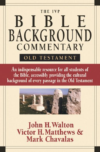 9780830824458: The IVP Bible Background Commentary: Old Testament