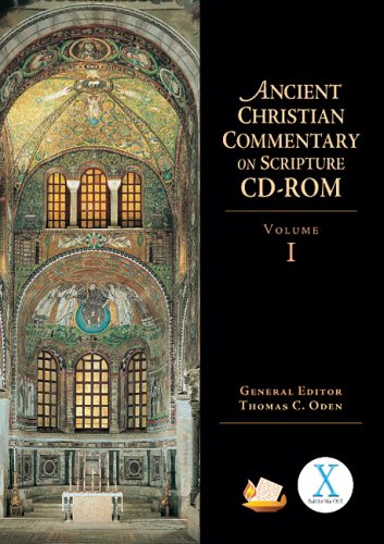 9780830824762: Ancient Christian Commentary on Scripture CD-ROM, Volume 1