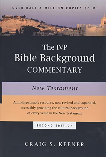 9780830824786: The IVP Bible Background Commentary: New Testament