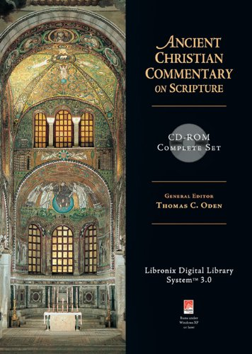 9780830824809: Ancient Christian Commentary on Scripture CD-ROM Complete Set (The Ancient Christian Commentary on Scripture)