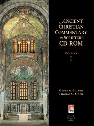 9780830824816: Ancient Christian Commentary on Scripture CD-ROM, Volume 1