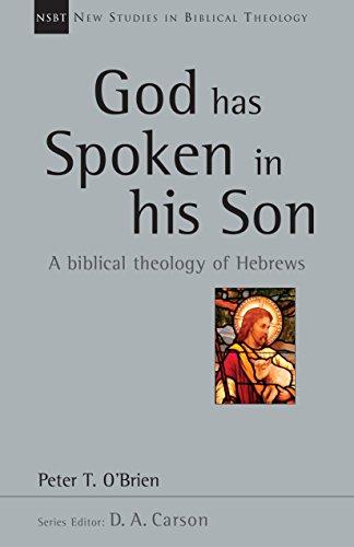 9780830826407: God Has Spoken in His Son (New Studies in Biblical Theology)