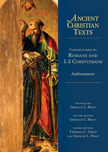 9780830829033: Commentaries on Romans and 1-2 Corinthians (Ancient Christian Texts)
