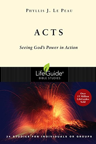 9780830830077: Acts: Seeing God's Power in Action (Lifeguide Bible Studies)