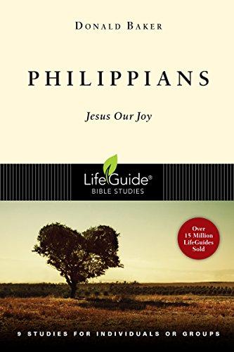 9780830830138: Philippians: Jesus Our Joy (Lifeguide Bible Studies)