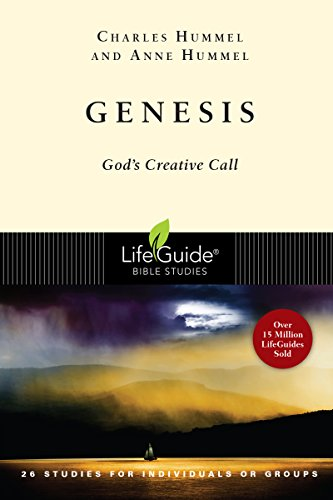 9780830830220: Genesis: God's Creative Call (Lifeguide Bible Studies)