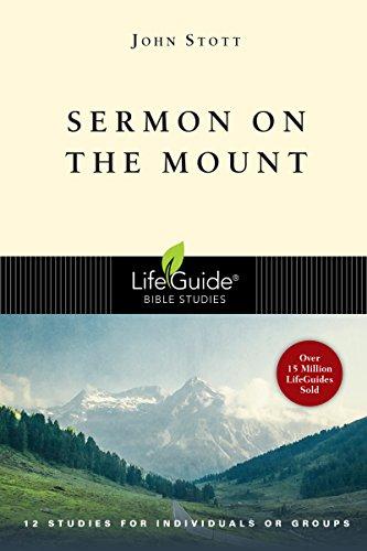 9780830830367: Sermon on the Mount (Lifeguide Bible Studies)