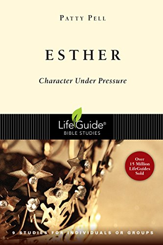 9780830830398: Esther: Character Under Pressure (Lifeguide Bible Studies)