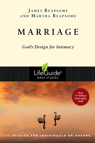 9780830830565: Marriage: God's Design for Intimacy (Lifeguide Bible Studies)
