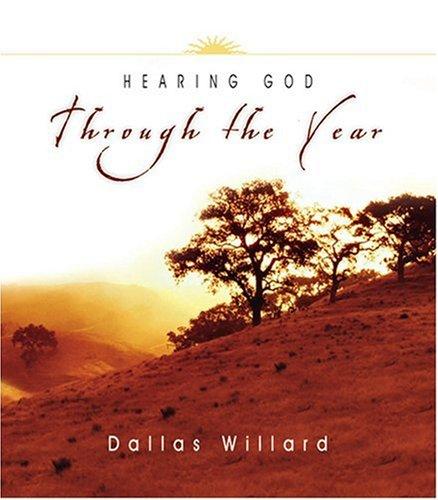 9780830832934: Hearing God Through the Year (Through the Year Devotional Series)