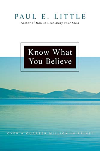9780830834235: Know What You Believe