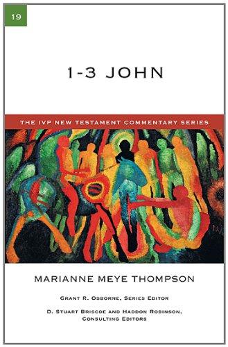 9780830840199: 1-3 John (IVP New Testament Commentary)