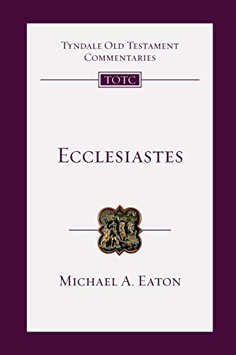 9780830842186: Ecclesiastes (Tyndale Old Testament Commentaries)