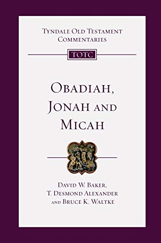 9780830842261: Obadiah, Jonah and Micah (Tyndale Old Testament Commentaries)
