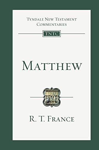 9780830842315: Matthew: An Introduction and Commentary (Tyndale New Testament Commentaries)