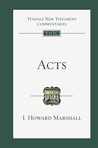 9780830842353: Acts (Tyndale New Testament Commentaries (IVP Numbered))