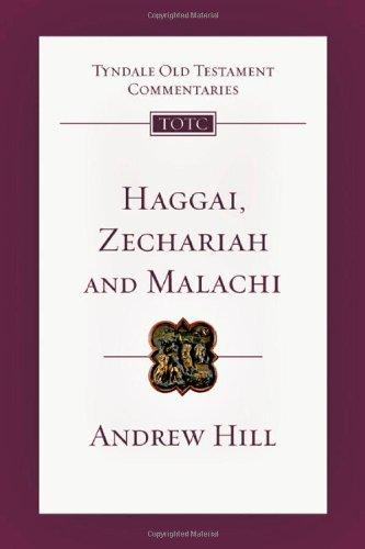9780830842827: Haggai, Zechariah, Malachi (Tyndale Old Testament Commentaries)