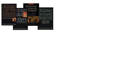 9780830870035: The IVP New Testament Dictionary Set, 4 Vols. A Compendium of Contemporary Biblical Scholarship