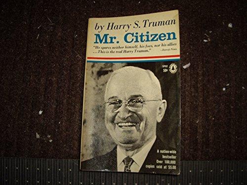 9780830900954: Mr. Citizen