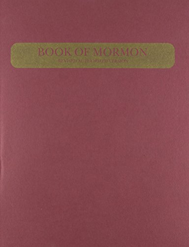 9780830902798: Book of Mormon/Large Print