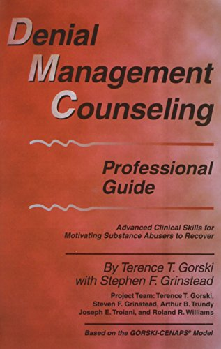 9780830909650: Denial Management Counseling Professional Guide: Advanced Clinical Skills for Motivating Substance Abusers to Recover