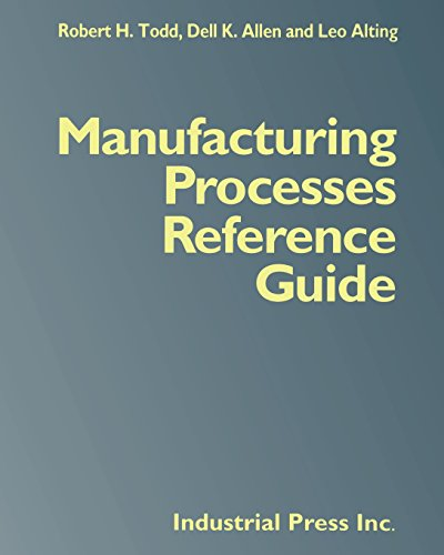 9780831102005: Manufacturing Processes Reference Guide
