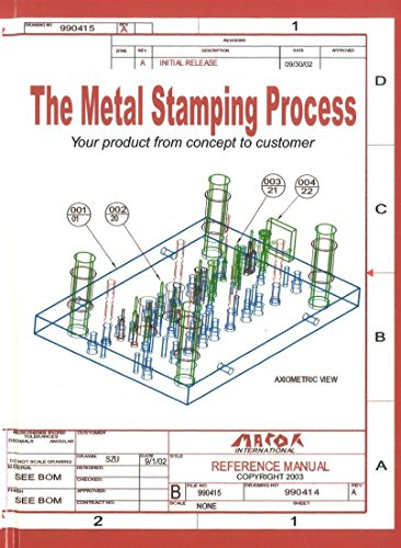9780831102203: The Metal Stamping Process