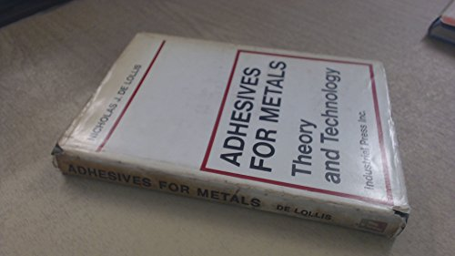 9780831110017: Adhesives for Metals
