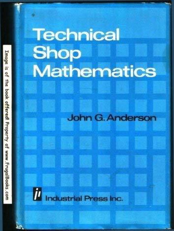 9780831110857: Technical Shop Mathematics