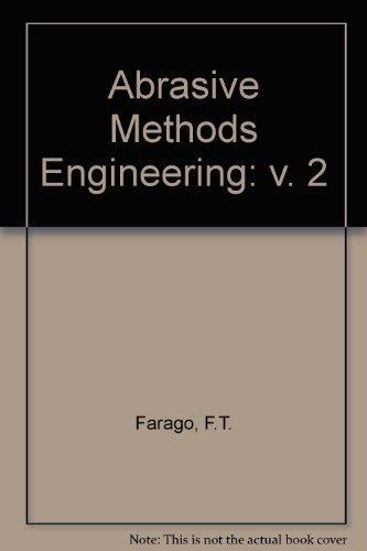 9780831111342: Abrasive Methods Engineering