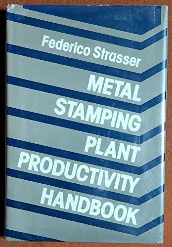9780831111472: Metal Stamping Plant Productivity Handbook