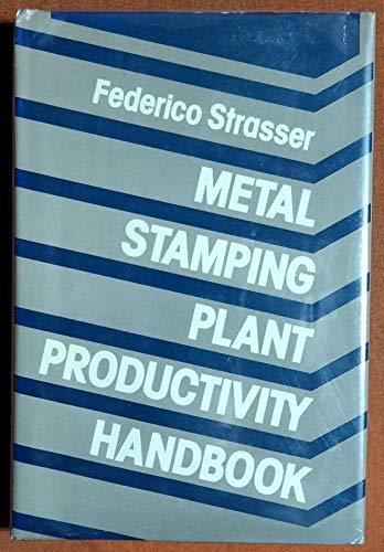 9780831111472: Metal Stamping Plant Productivity Handbook