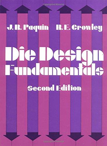 9780831111724: Die Design Fundamentals