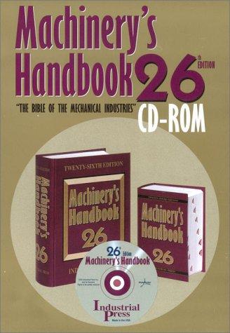 9780831126667: Machinery's Handbook (Machinery's Handbook (CD-ROM))