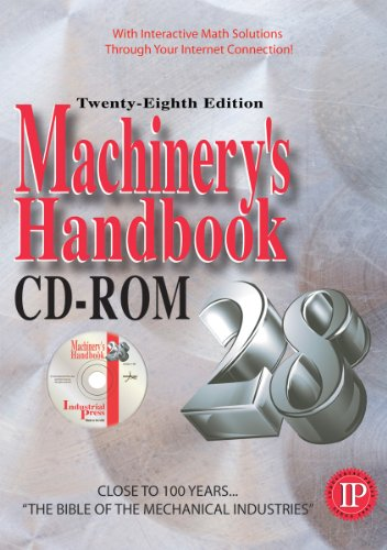 9780831128883: Machinery's Handbook 28th - CD ROM (Machinerys Handbook (CD-Rom))