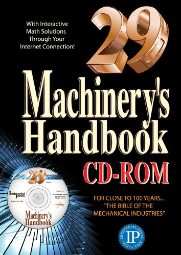 9780831129026: Machinery's Handbook 29th Edition - CD-Rom
