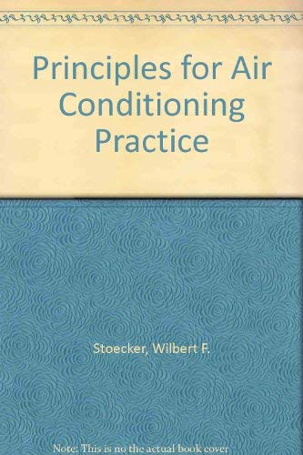 9780831130213: Principles for Air Conditioning Practice