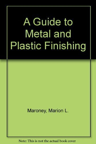 9780831130329: A Guide to Metal and Plastic Finishing