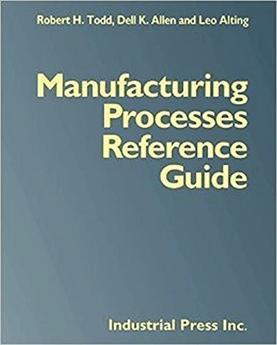 9780831130497: Manufacturing Processes Reference Guide