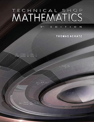 9780831130862: Technical Shop Mathematics