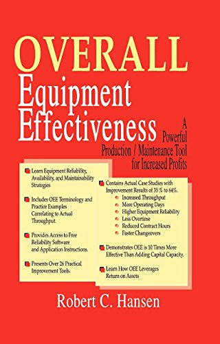 Overall Equipment Effectiveness: A Powerful Production/Maintenance Tool for Increased Profits:...