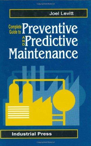 9780831131548: Complete Guide to Predictive and Preventive Maintenance
