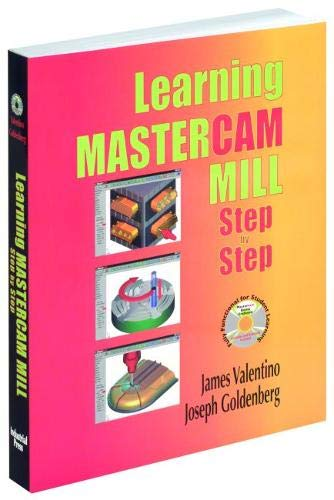 9780831131777: Learning Mastercam Mill Step by Step: Book & CD