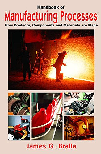 9780831131791: Handbook of Manufacturing Processes - How Products, Components and Materials Are Made